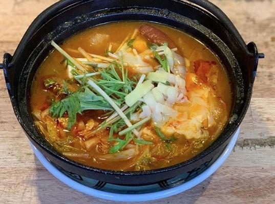 日替わりランチ「トマト鍋」