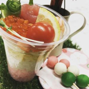 3月3日ひな祭りの日限定販売した。ひな寿司 ✨✨ 来年もまた販売するのでお楽しみに 🤗【サンフラワーパーク北竜温泉】